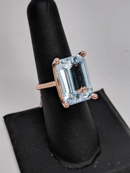 14.4 Carat Aquamarine Ring