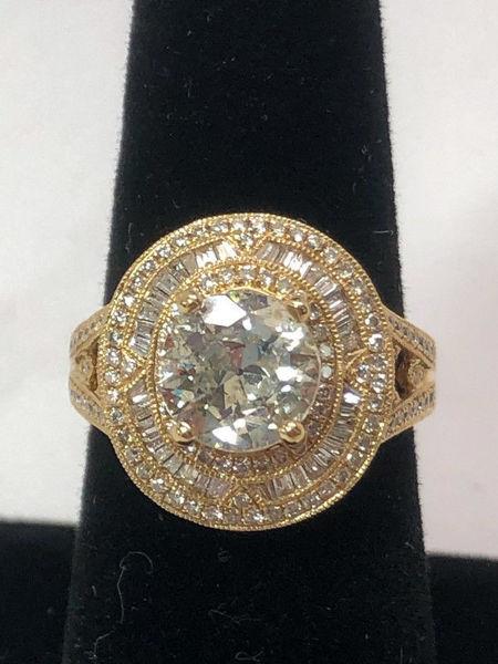 3 Carat Engagement Ring