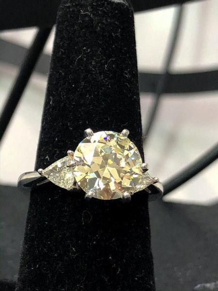 3.33 Carat Engagement Ring