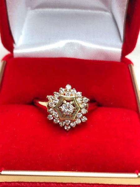 60's Diamond Ring