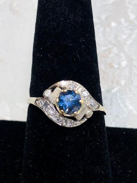 Art Nouveau Bypass Ring