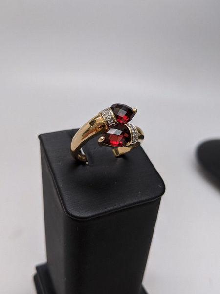 Bypass Garnet Ring