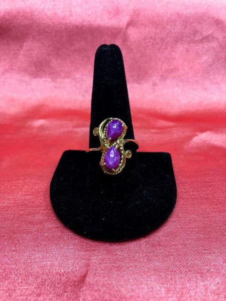Vintage Star Ruby Ring