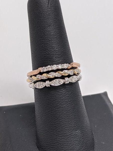 Vintage Tri Band Ring