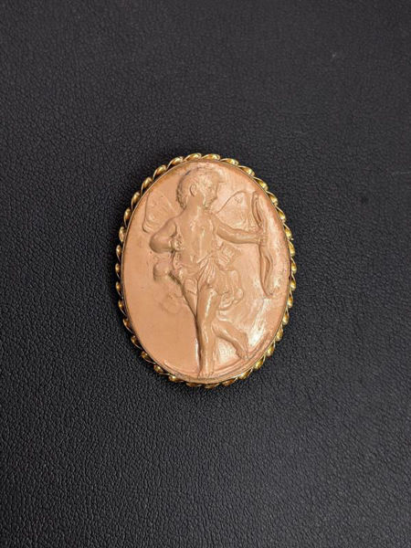 Picture of Cupid Cameo Brooch / Pendant