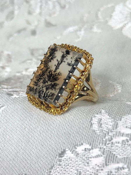 Picture of Dendritic Agate Ring