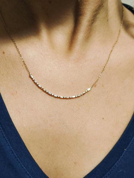 Picture of Diamond Baguette Necklace