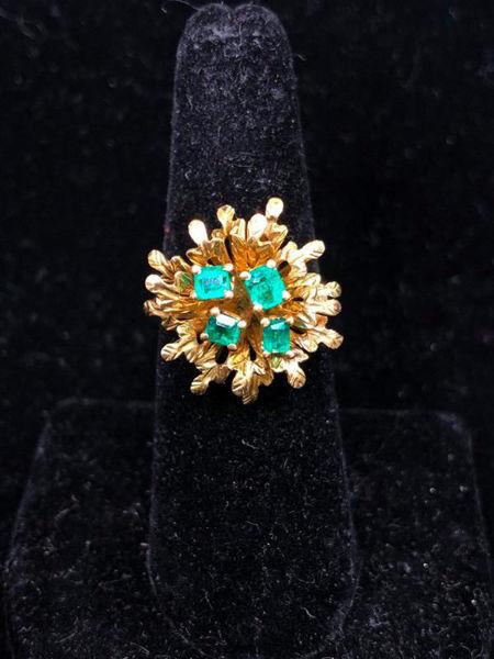 Victorian Emerald Ring