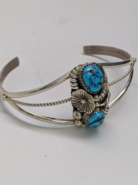 Turquoise Sterling Silver Cuff