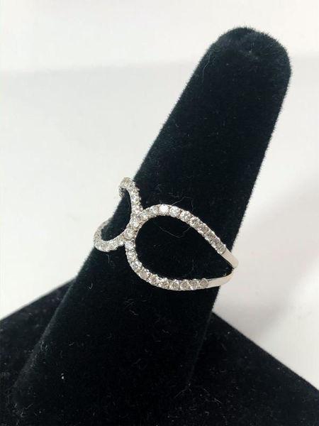 Diamond Negative Space Ring