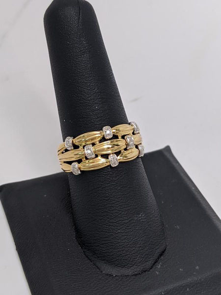 Picture of Diamond Stack Ring