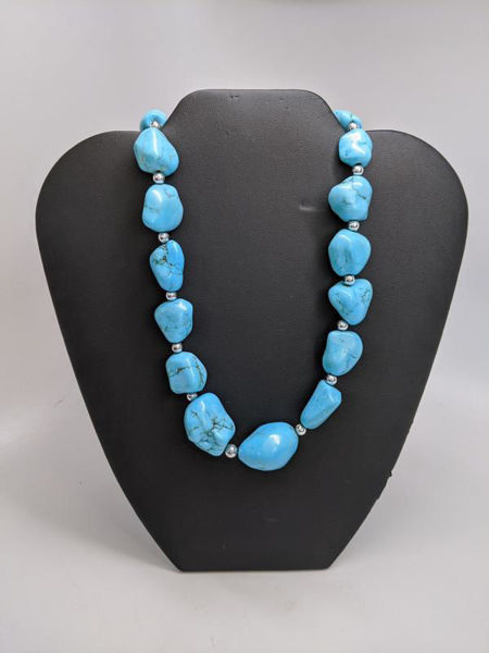 Turquoise and Bead Necklace