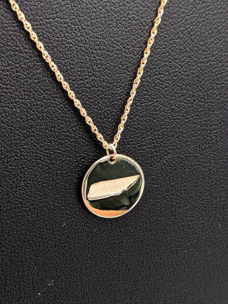 Gold Tennessee Necklace