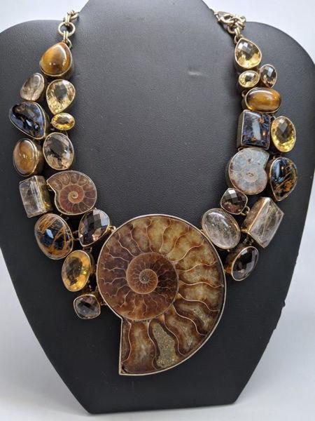 Rare Ammonite Necklace