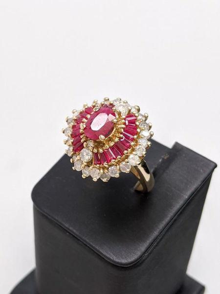 Ruby Ballerina Ring
