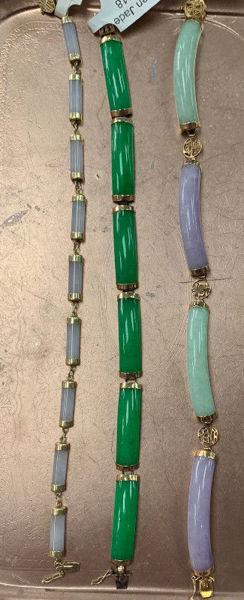Jade Bracelets- 3 available