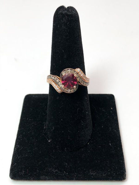 Picture of LeVian Garnet Ring