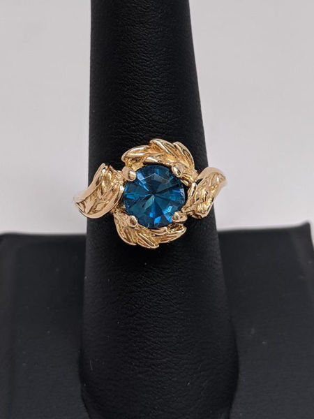 Picture of London Blue Topaz Ring