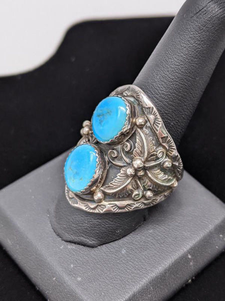 Picture of Men's Turquoise Navajo Ring