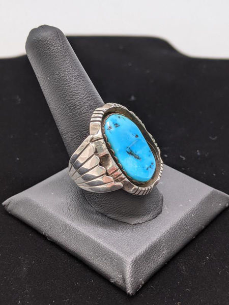 Picture of Men's Turquoise Ring