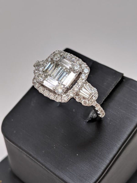 Picture of Mosaic Engagement Ring