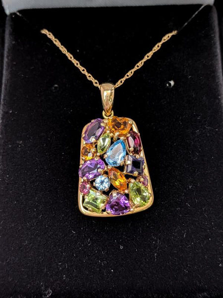 Picture of Multi-Gemstone Necklace