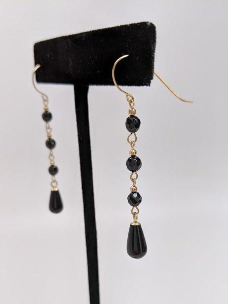 Picture of Onyx Dangle Earrings