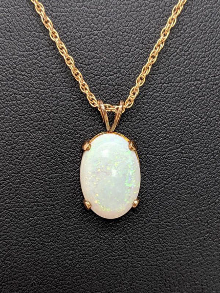 Picture of Opal and Yellow Gold Necklace