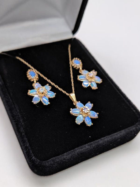 Picture of Opal Jewelry Set