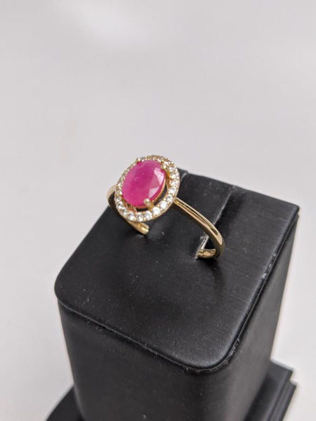 Picture of Oval Ruby Ring