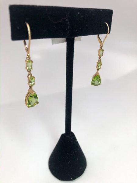 Picture of Peridot Drop Earrings